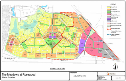 Proposed Major Amendment to the Rosewood Concept Plan
